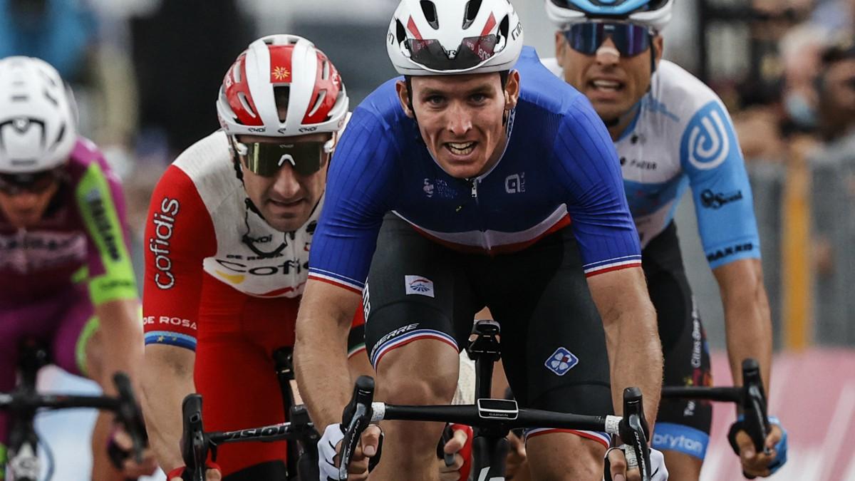 Clasificación del Giro de Italia a la conclusión de la sexta etapa. (AFP)