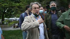 El periodista y eurodiputado de Vox, Hermann Tertsch. (Foto: Europa Press)