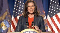 La gobernadora demócrata del Estado de Míchigan, Gretchen Whitmer. Foto: EP