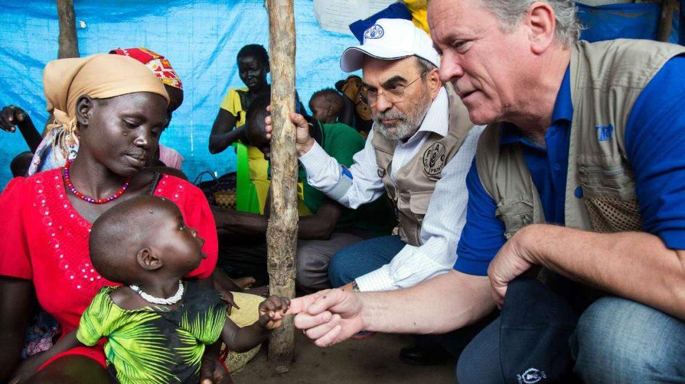 El Programa Mundial de Alimentos, premio Nobel de la Paz. Foto: EP