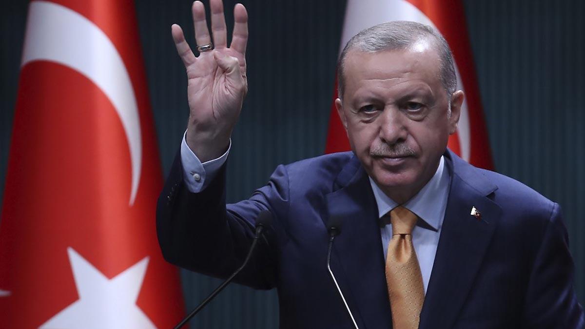 Recep Tayip Erdogan, presidente de Turquía