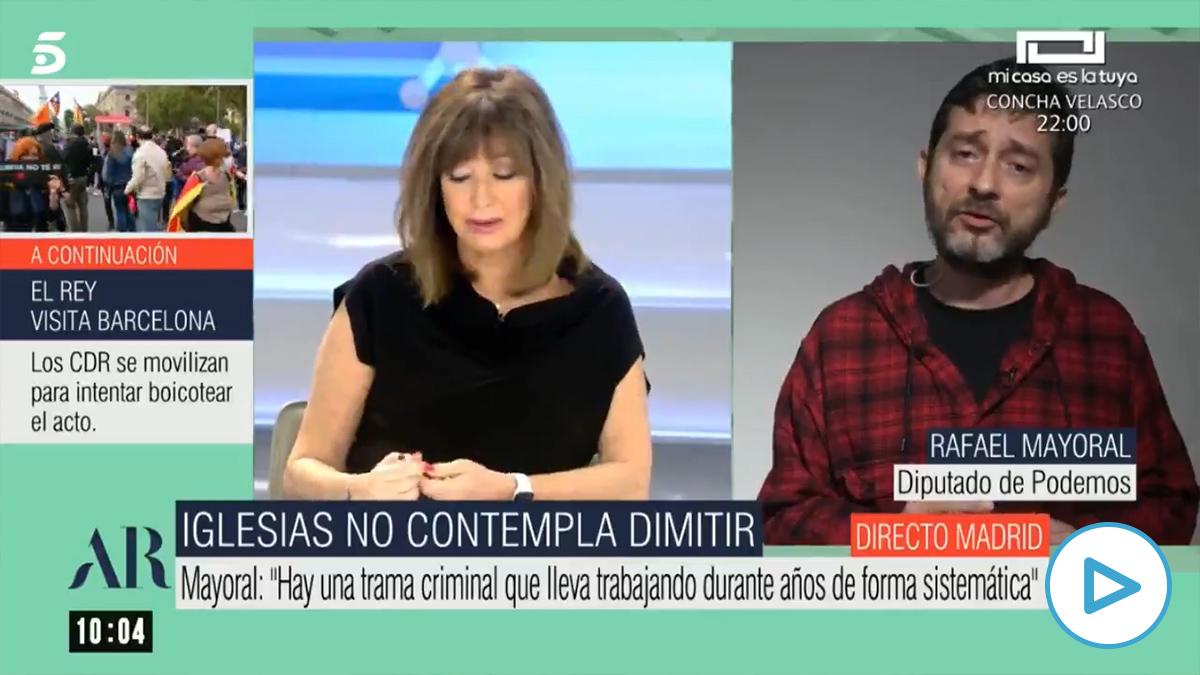 Podemos dice que sus ataques al juez del 'caso Dina-Iglesias' son «derecho a la sana crítica».