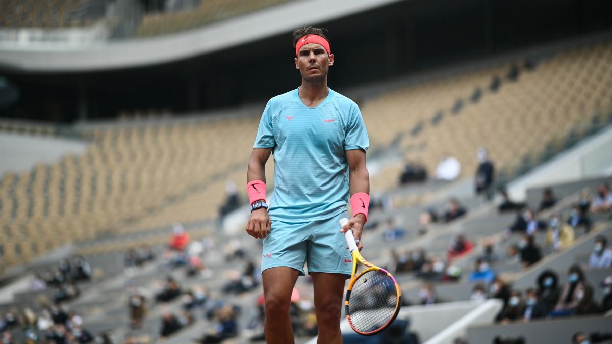 Rafa Nadal – Diego Schwartzman, en directo.   Partido de las semifinales de Roland Garros. (AFP)