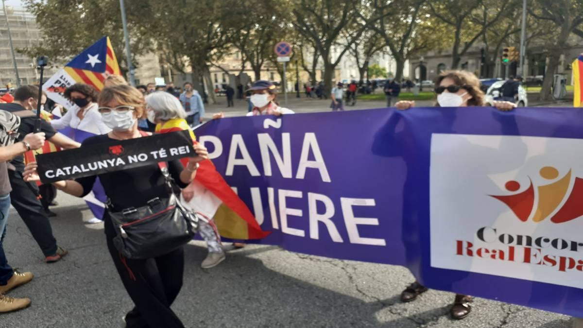 Manifestación de Concordia Real Española