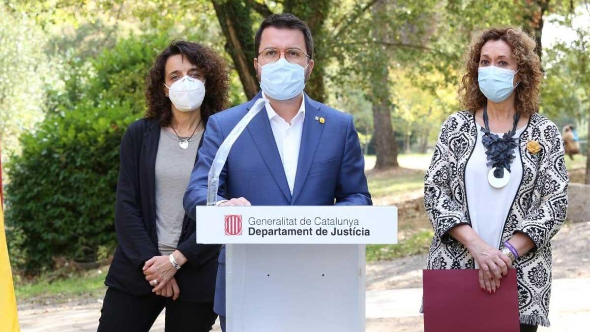 El vicepresidente de la Generalitat, Pere Aragonés. Foto: Europa Press