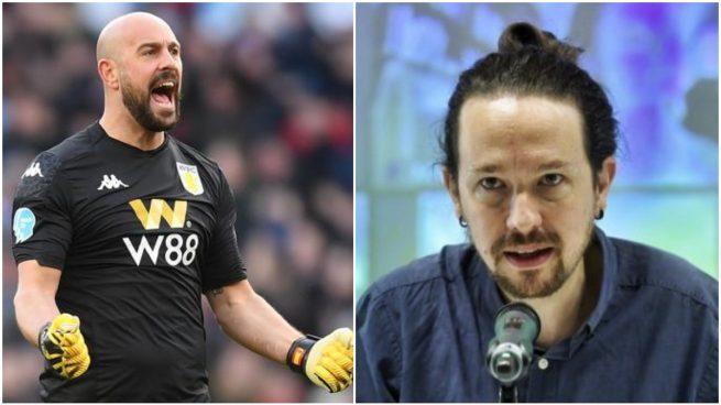 Pepe Reina aplaude el épico zasca de Toni Cantó a Pablo Iglesias tras su enésimo ridículo