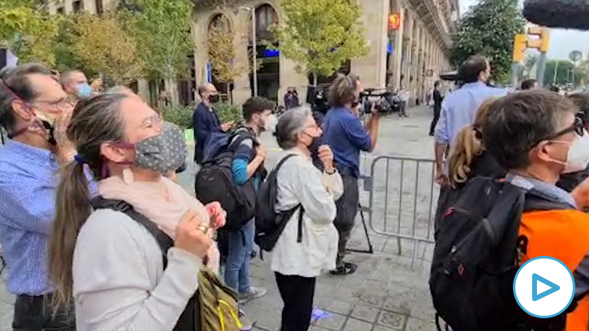 Estrepitoso fracaso de las protestas separatistas contra el Rey en Barcelona