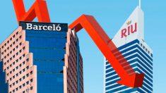 Barceló y Riu Hoteles.