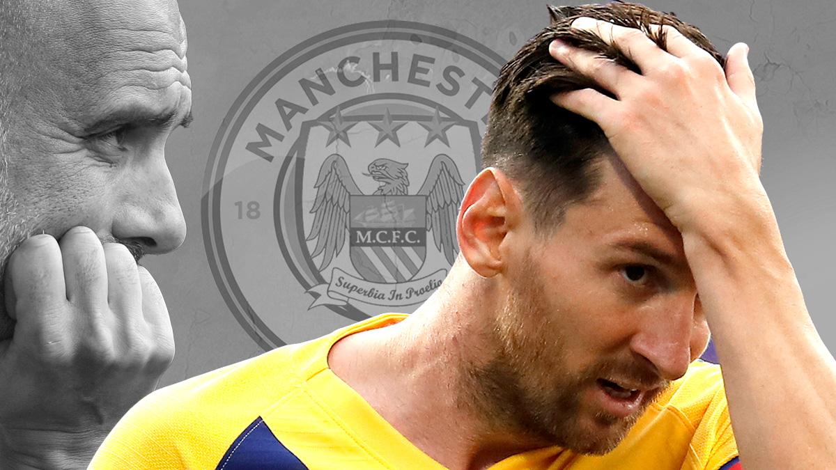El City quiere llevarse a Messi en enero.