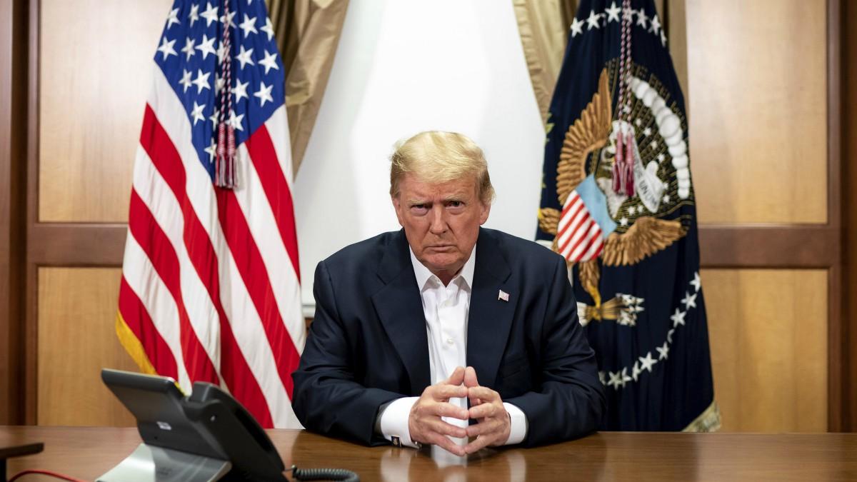 El presidente de Estados Unidos, Donald Trump.   (WHITE HOUSE)