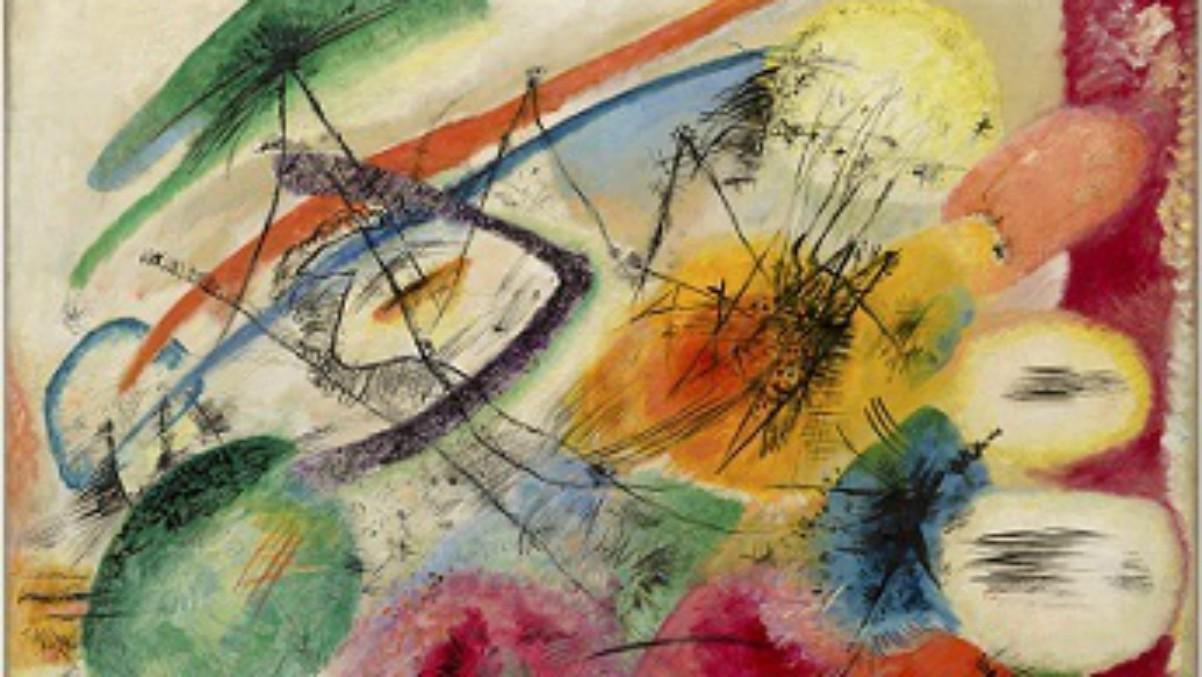 Vasily Kandinsky. (SOLOMON R. GUGGENHEIM FOUNDATION, NEW YORK)