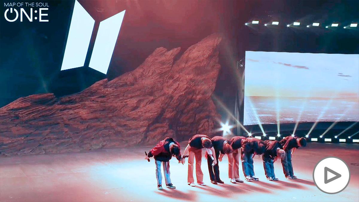 BTS reune a más de 100 millones de personas en su concierto online.