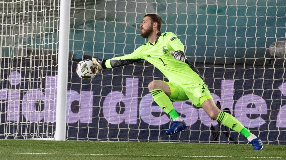 De Gea salvó a España contra Suiza. (EFE)