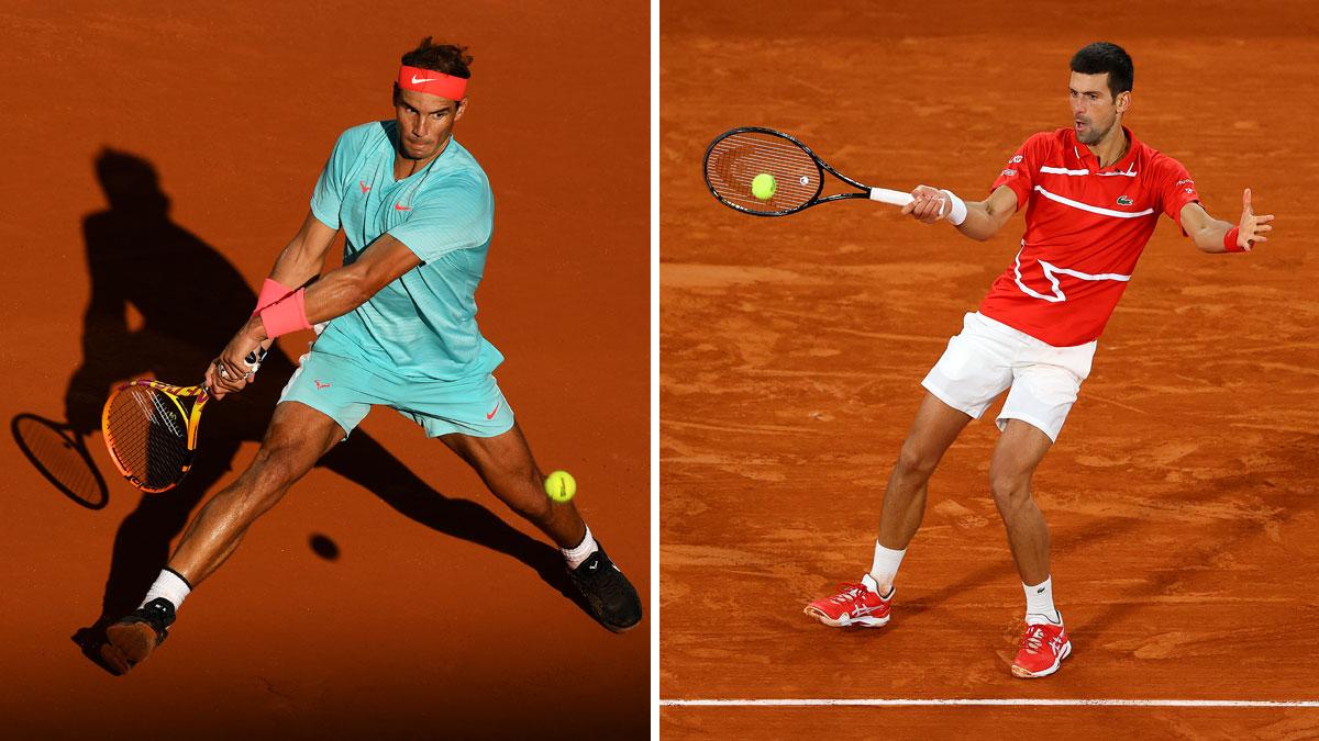 Rafa Nadal y Djokovic, las grandes estrellas del Mutua Madrid Open 2021.