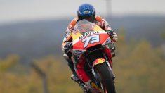 Primer podio de Álex Márquez en MotoGP tras el GP de Francia 2020. (Getty)