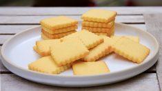 Galletas de maíz y mantequilla