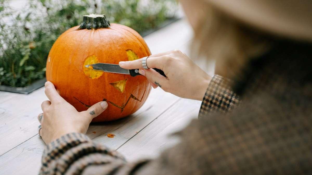 Las calabazas talladas son todo un clásico en Halloween