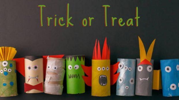 Halloween 2020: Decoraciones con rollos de papel higiénico que podemos hacer con los niños en casa