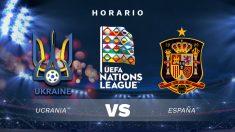 Ucrania – España: partido de la jornada 4 de la Liga de las Naciones.