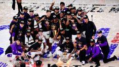 Los Angeles Lakers, campeones de la NBA. (Getty)