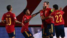 España juega esta noche en La 1 contra Ucrania