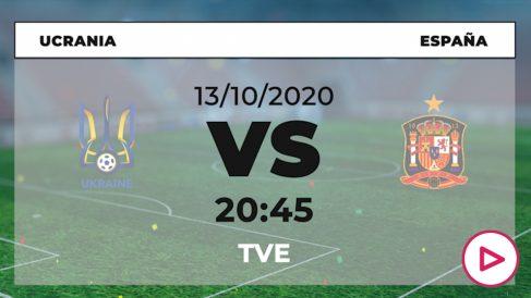 Ucrania – España: jornada 4 de la UEFA Nations League