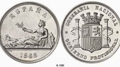 El 19 de octubre de 1868 se adopta la peseta como moneda oficial en España