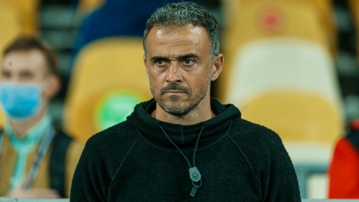 Luis Enrique, durante un partido. (SeFútbol)
