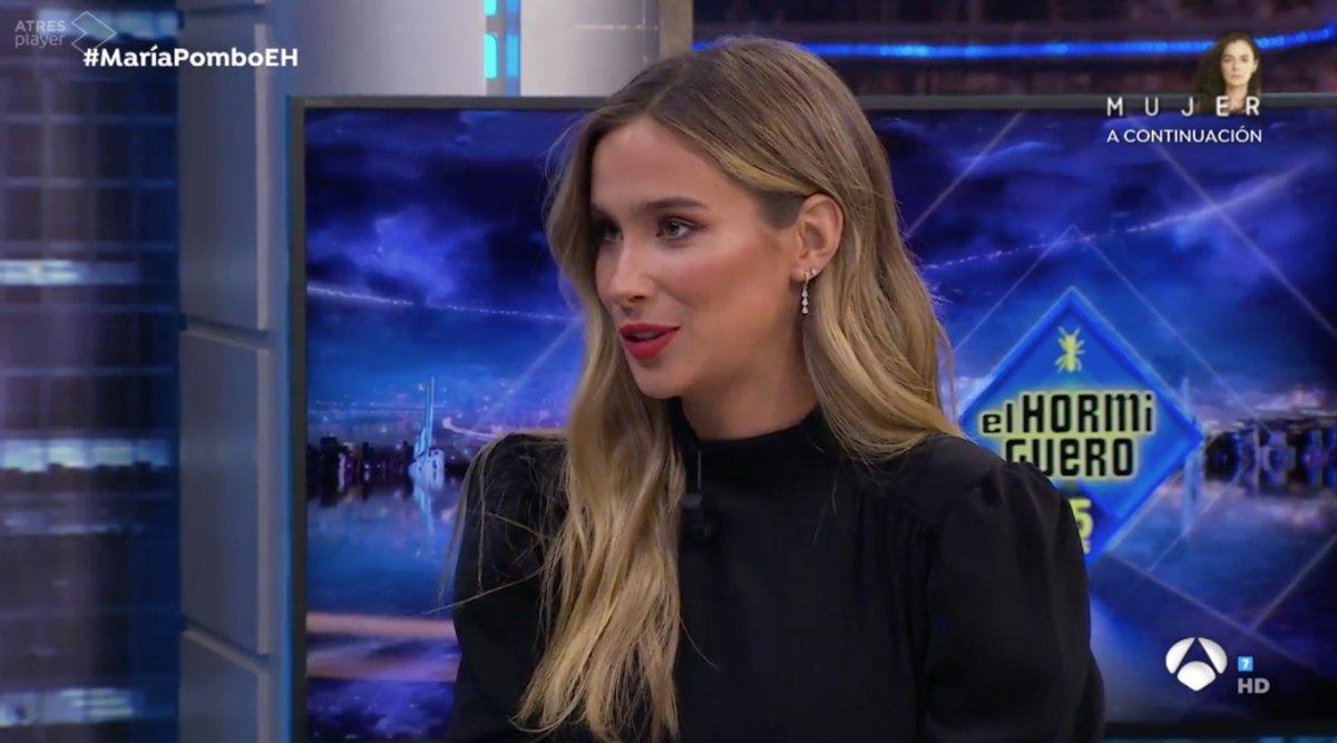 María Pombo en 'El Hormiguero'