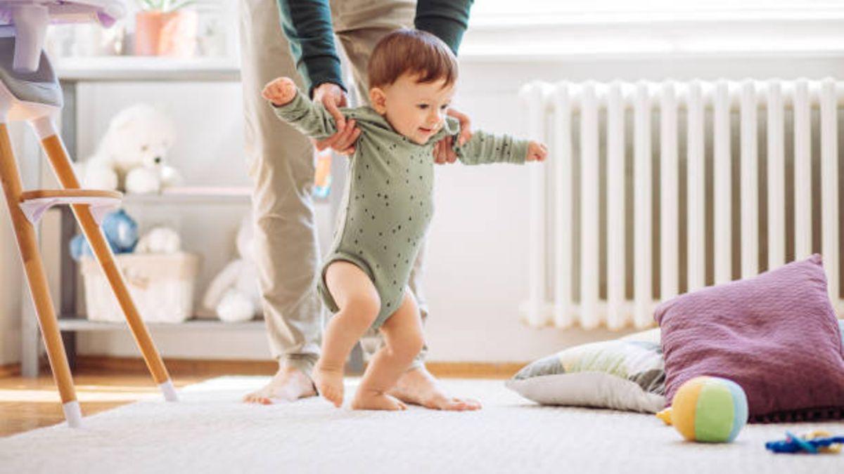 Pautas y consejos para ayudar al bebé a dar sus primeros pasos