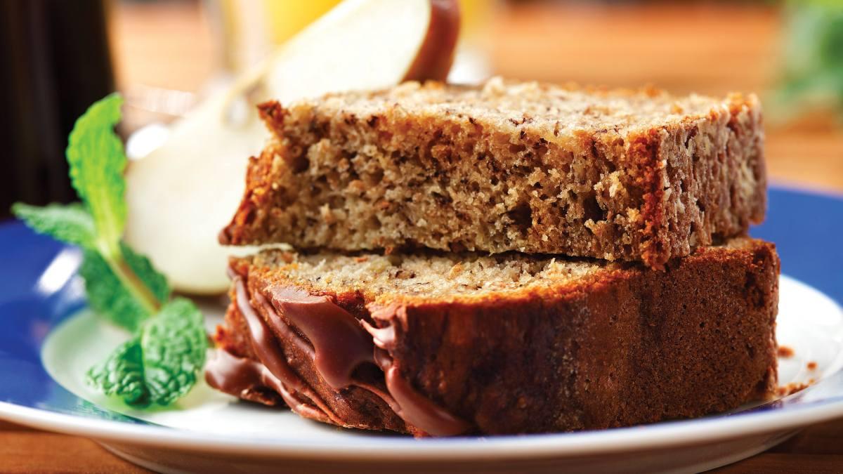 Receta de Brownie vegano de plátano, canela y batata