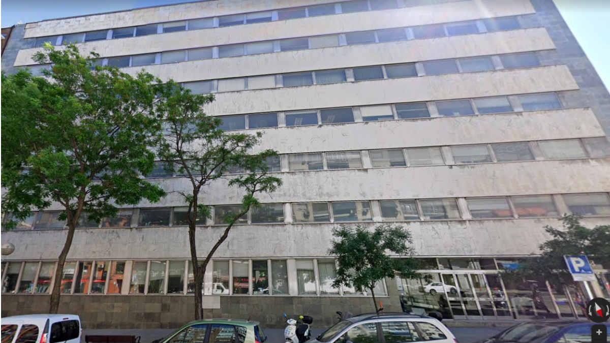 Antigua sede de Metro de Madrid en la calle Cavanilles, 56 (Foto: Google Maps)