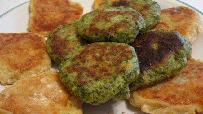 Croquetas de brócoli y queso parmesano al horno