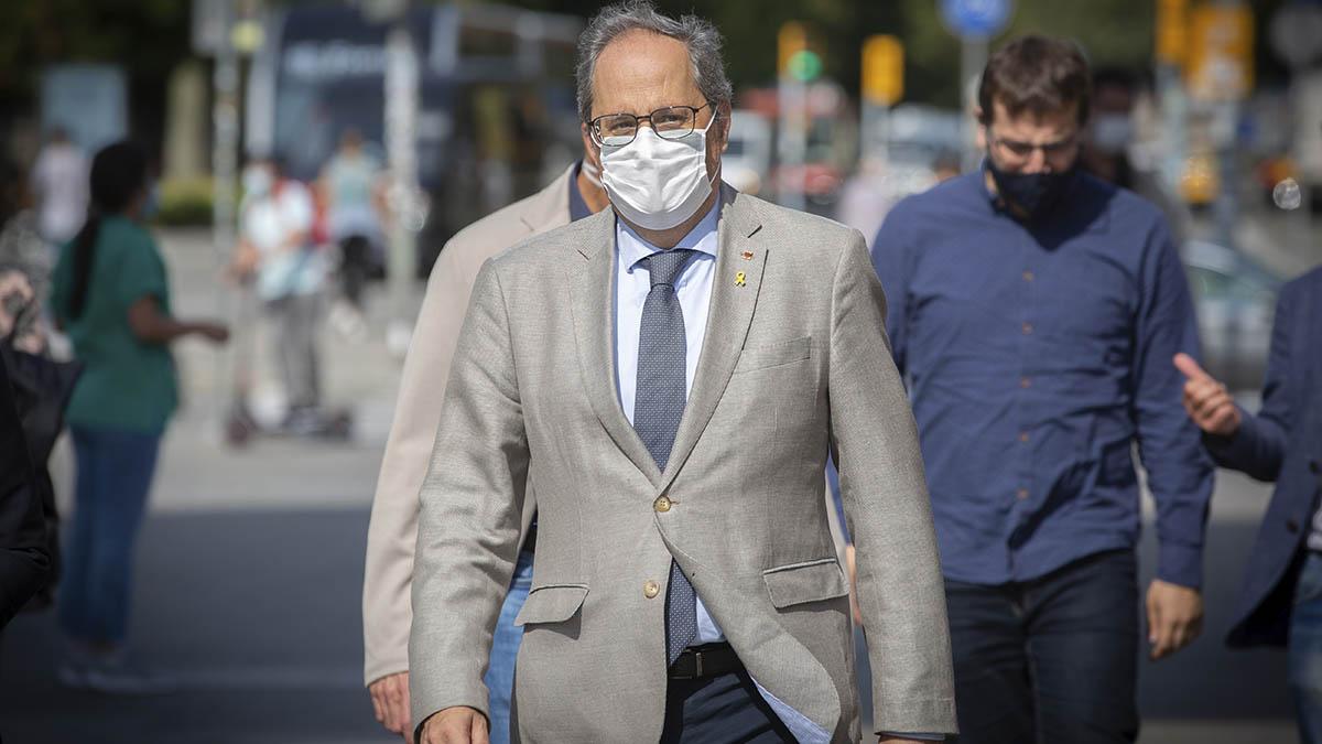 El ex president de la Generalitat Quim Torra