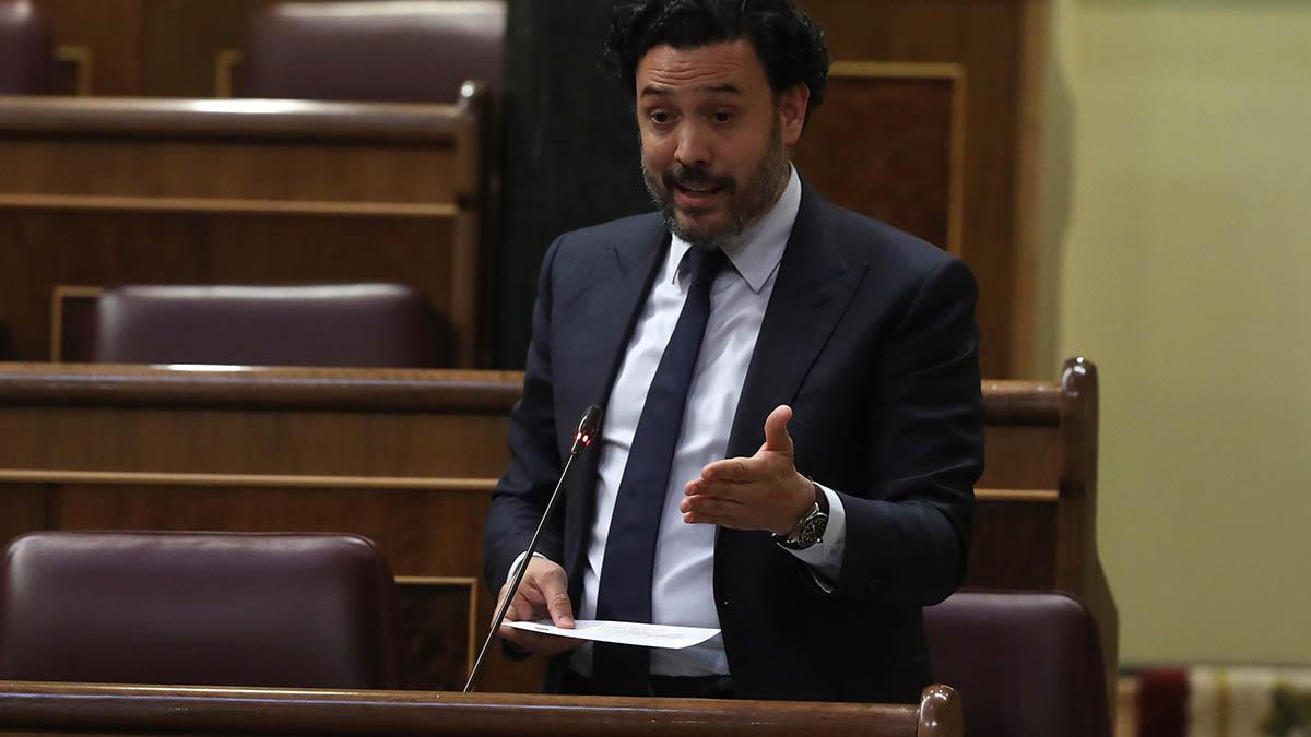 El secretario general del Grupo Parlamentario Popular, Guillermo Mariscal.