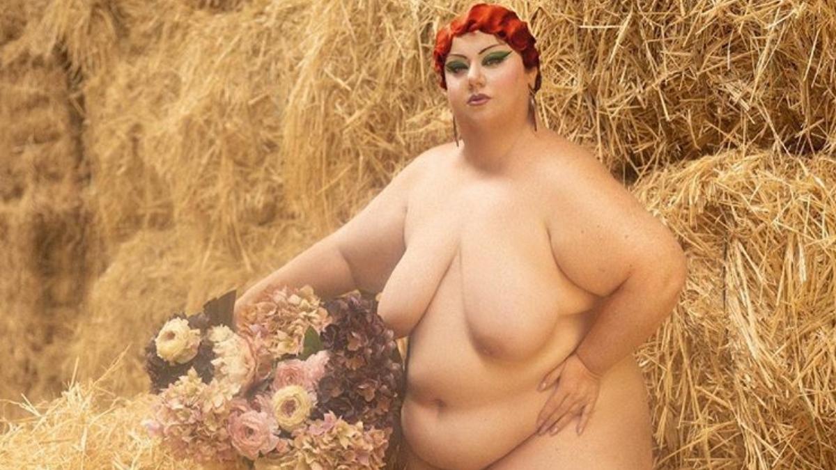 Instagram permite el desnudo artístico de Itziar Castro entre la paja