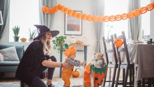 Halloween decorar casa