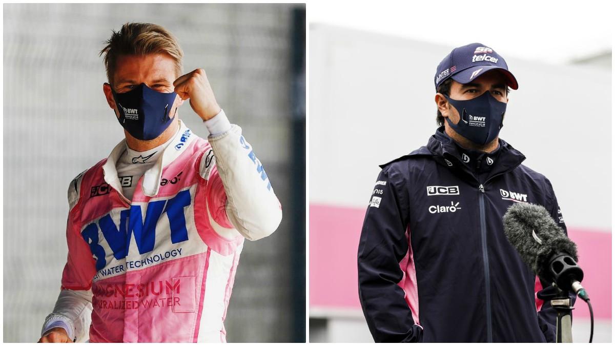 Nico Hülkenberg y Sergio Pérez.