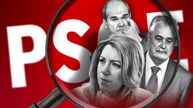 El PSOE andaluz, de récord: seis líos judiciales por más casos de corrupción ¡en sólo cuatro días!