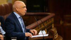 El portavoz adjunto del PSOE en el Congreso, Rafael Simancas. (Foto: Congreso)