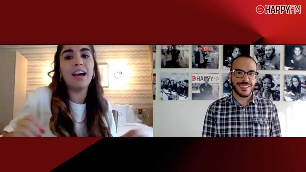 Anaju en Happy FM: «Los primeros en escuchar 'Rota' fueron Nia e Iván Labanda»
