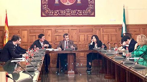 Comité Nacional de la Asociación Judicial Francisco Vitoria.