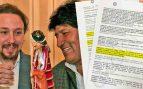 """Los imputados de Neurona en Bolivia declaran que la contrataron """"por orden de altos cargos de Evo Morales"""""""