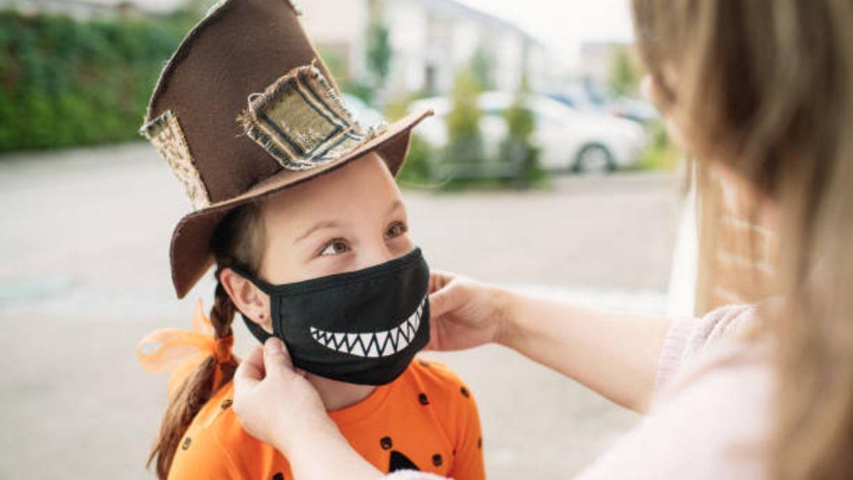 Ideas de mascarillas para que los niños las lleven este Halloween