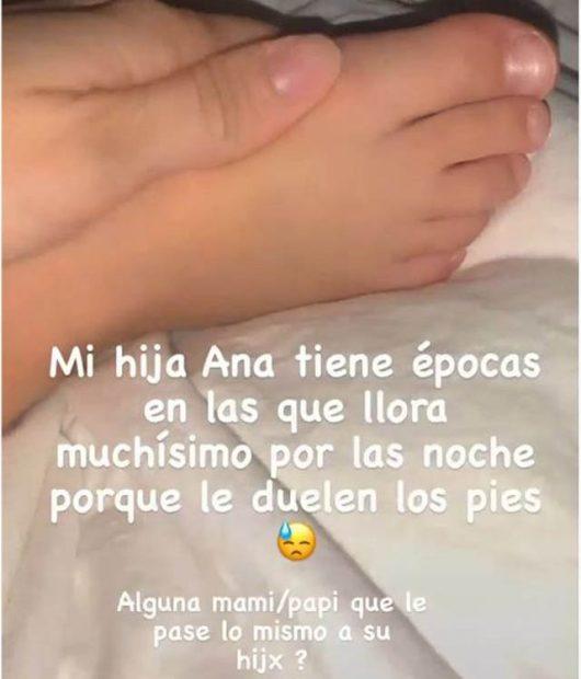 Irene Rosales desvela el problema de salud de su hija Ana y pide ayuda