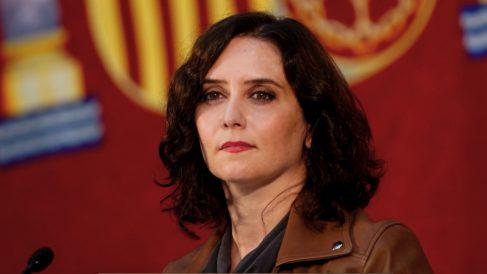 Isabel Díaz Ayuso en rueda de prensa. (Foto: Comunidad)