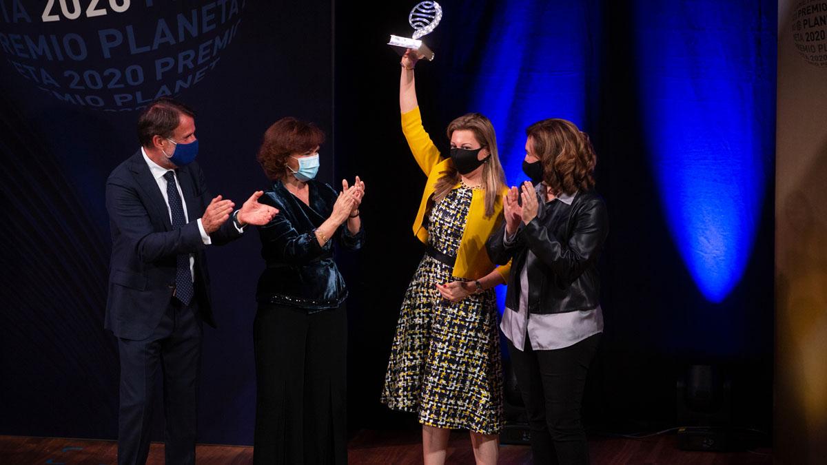 Eva García Sáenz de Urturi, ganadora del Premio Planeta (Foto: EP)