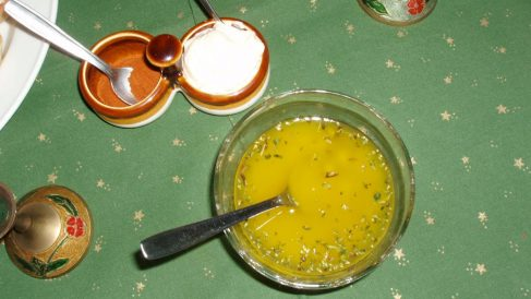 Receta de Vinagreta de albahaca y limón