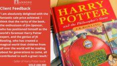 Primera edición 'Harry Potter y la Piedra Filosofal'