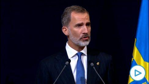 El Rey defiende la Constitución y llama a «un gran esfuerzo nacional de entendimiento y de concordia»